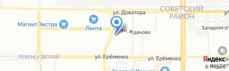 Мебельный магазин на карте Ростова-на-Дону