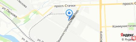 Экспресс Авто на карте Ростова-на-Дону