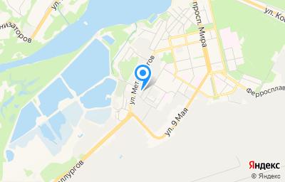 Местоположение на карте пункта техосмотра по адресу г Липецк, ул Рабочая, влд 8