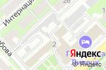 Схема проезда до компании Деловой центр на Ленина в Липецке