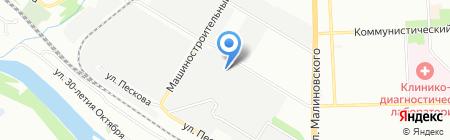 Ретал на карте Ростова-на-Дону