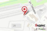 Схема проезда до компании САВА ЭЛЕКТРО в Липецке