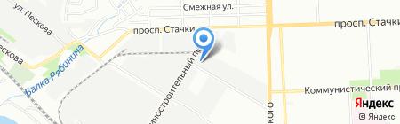 Ростхимснаб на карте Ростова-на-Дону