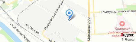 Юг-Трансинвест на карте Ростова-на-Дону