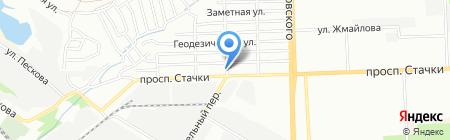 Алекс-Сервис на карте Ростова-на-Дону