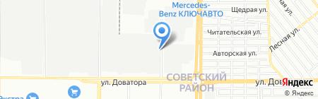 Доломит на карте Ростова-на-Дону