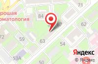 Схема проезда до компании Всероссийское общество инвалидов Правобережного района в Липецке