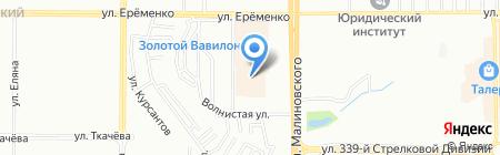Банкомат КБ Ситибанк на карте Ростова-на-Дону