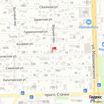 г. Ростов-на-Дону, ул. Геодезическая,22 на карта