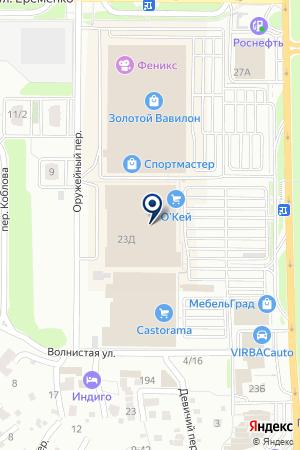 Esegway на карте Ростова-на-Дону
