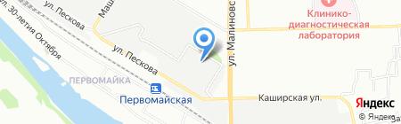 КвадроКом на карте Ростова-на-Дону
