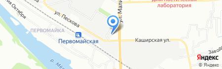 Формалаб на карте Ростова-на-Дону