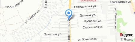 Шашлык-машлык на карте Ростова-на-Дону