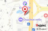 Схема проезда до компании Седьмое Небо в Ростове-на-Дону