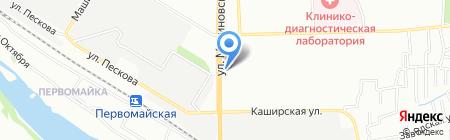 Виват на карте Ростова-на-Дону