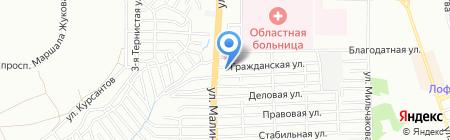 Нар-шараб на карте Ростова-на-Дону