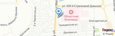 Горбуновъ на карте Ростова-на-Дону