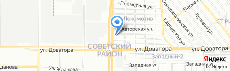 Агростройсервис на карте Ростова-на-Дону
