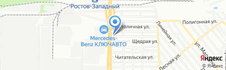 МТЗ на карте Ростова-на-Дону