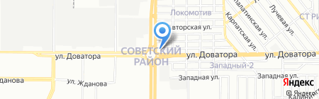 Комплекс General на карте Ростова-на-Дону