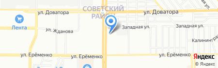Автострахование161 на карте Ростова-на-Дону
