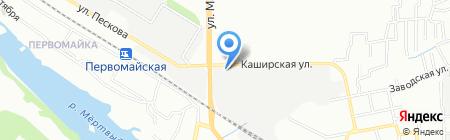 Ростмаш на карте Ростова-на-Дону