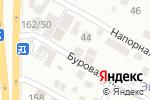 Схема проезда до компании Альфа Нева в Ростове-на-Дону