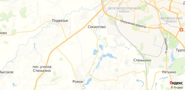 Никольское на карте