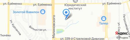 Детский сад №4 на карте Ростова-на-Дону