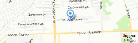 Галерея красоты на карте Ростова-на-Дону