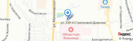 Медтехника на карте Ростова-на-Дону