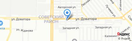 Камавто-Дон на карте Ростова-на-Дону