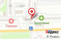 Схема проезда до компании РостовДонАКБ в Александровке
