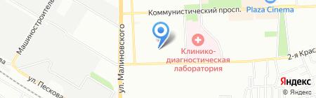 Средняя общеобразовательная школа №87 на карте Ростова-на-Дону