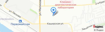 Средняя общеобразовательная школа №86 на карте Ростова-на-Дону