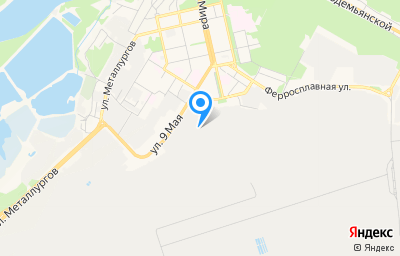 Местоположение на карте пункта техосмотра по адресу г Липецк, ул 9-го Мая, д 67
