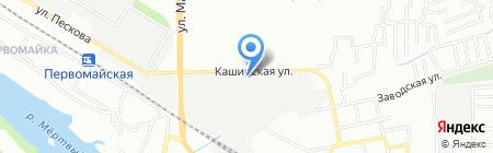 Ростовский завод синтетических продуктов на карте Ростова-на-Дону