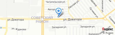 РостовСтройТорг на карте Ростова-на-Дону
