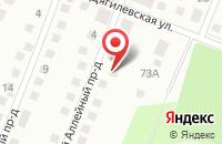 Схема проезда до компании Полиграф-Р в Рязани