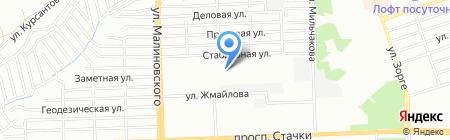 АнтураЖ на карте Ростова-на-Дону