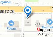 Уральский гранит на карте