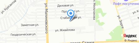 Империя на карте Ростова-на-Дону