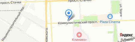 Оконный Комбинат Светоч на карте Ростова-на-Дону