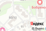 Схема проезда до компании Ростовский Знак в Ростове-на-Дону