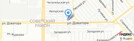 Чистая сила на карте Ростова-на-Дону