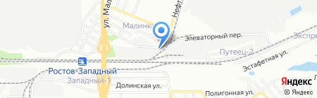 Спецторг-Юг на карте Ростова-на-Дону