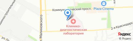 Кактус на карте Ростова-на-Дону