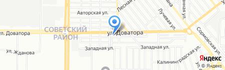 С-ТРАНССЕРВИС на карте Ростова-на-Дону