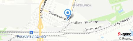 СтройКа на карте Ростова-на-Дону