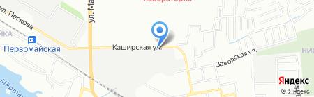 ТВВ на карте Ростова-на-Дону